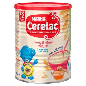 Cerelac Honey & Wheat with Milk from 12 months – 400g