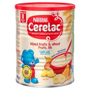Cerelac Mixed Fruits & Wheat with Milk from 7 months – 400g