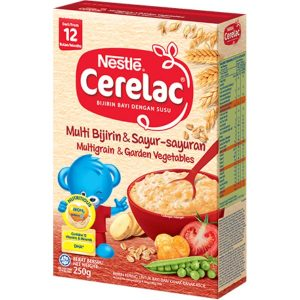Cerelac Multi Grain & Garden Vegetables from 12 months – 250g
