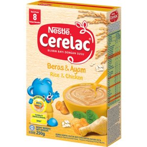 Cerelac Rice & Chicken from 8 months – 250g