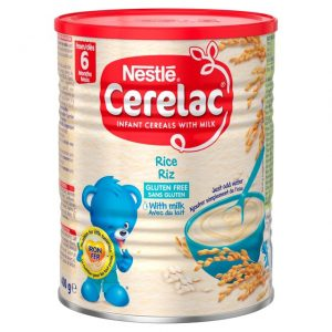 Cerelac Rice with Milk from 6 months – 400g