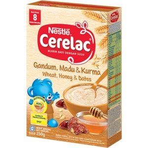 Cerelac Wheat, Honey & Dates from 8 months – 250g