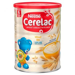 Cerelac Wheat with Milk from 6 months – 400g