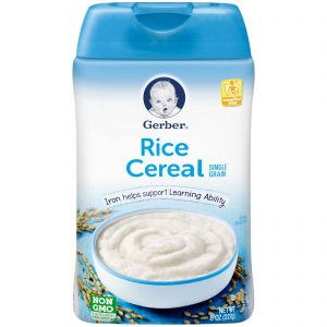 Gerber Rice Cereal – 227g
