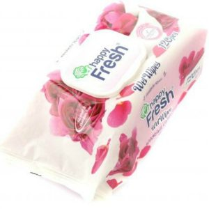 Happy Fresh Wet Wipes – 120 pcs