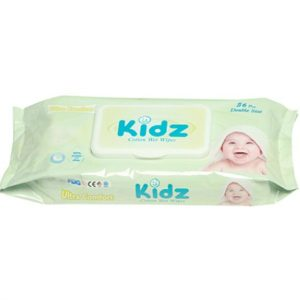 Kidz cotton wet wipes