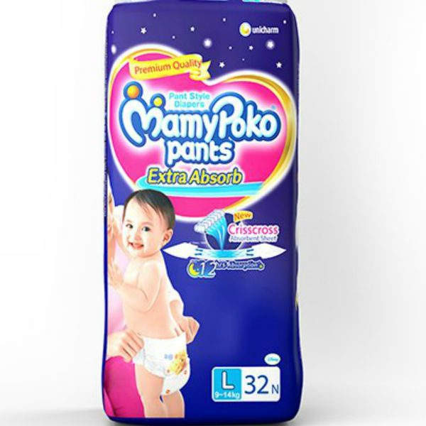MamyPoko Pants Diapers Large 32pcs