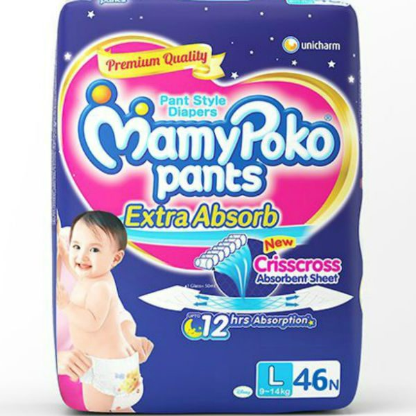 MamyPoko Pants Diapers Large 46pcs