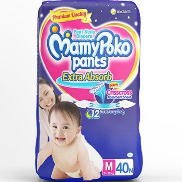 MamyPoko Pants Diapers Medium 40pcs