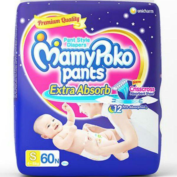 MamyPoko Pants Diapers Small 60pcs