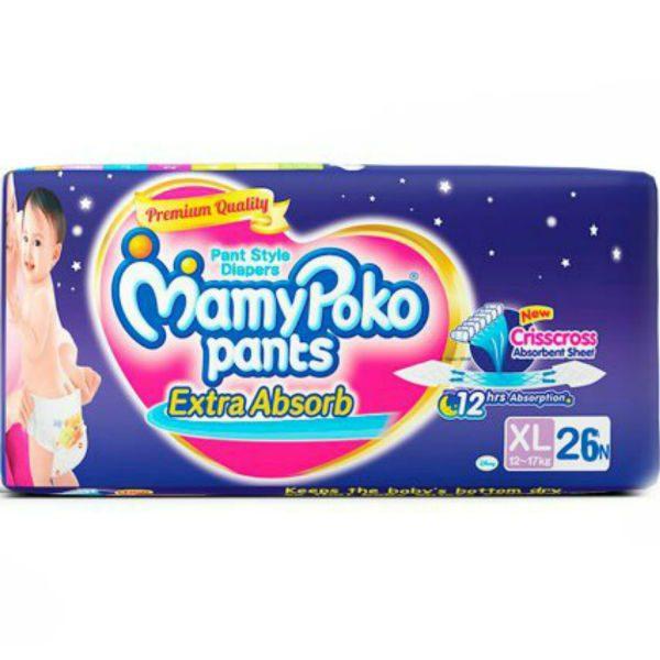 MamyPoko Pants Diapers XL 26pcs
