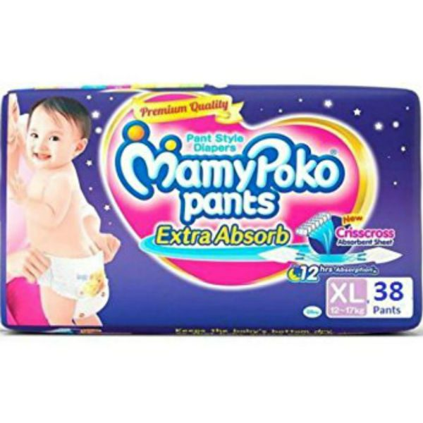 MamyPoko Pants Diapers XL 38pcs