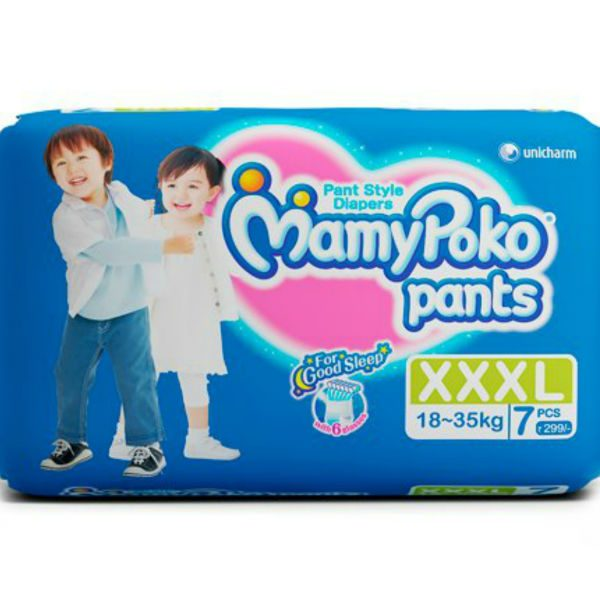 MamyPoko Pants Diapers XXXL 7pcs