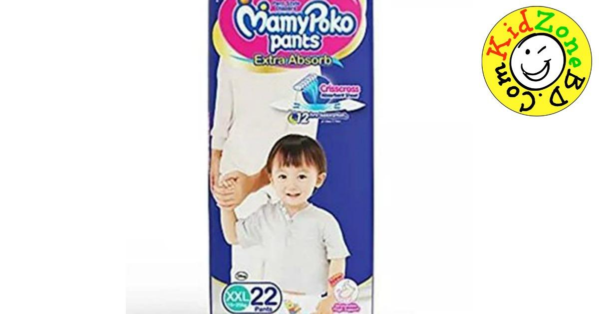 MamyPoko Pants Diapers XXL (15-25 kg) - 22 pcs