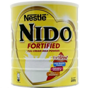 Nido Fortified Tin – 2500g