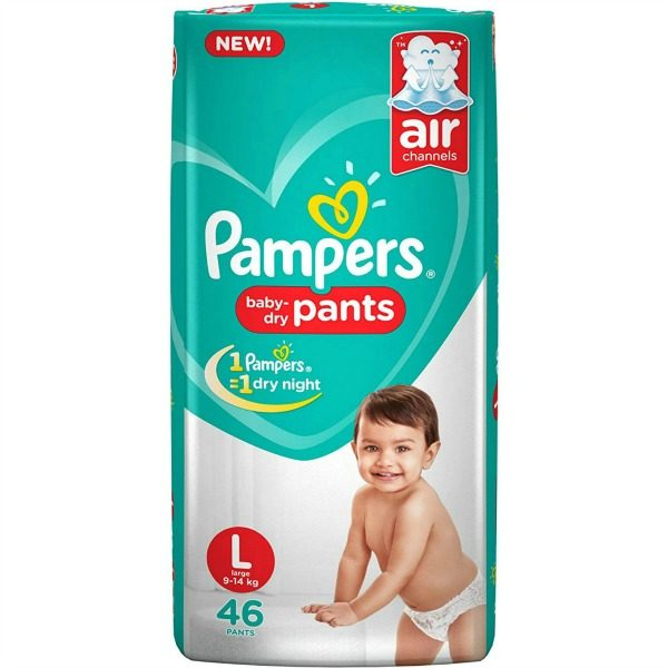 Pampers Pants Large 46pcs