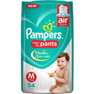 Pampers Pants Medium (7-12 kg) – 54pcs