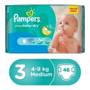 Saudi Pampers 3 46 pcs