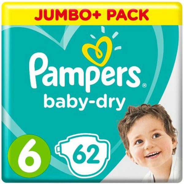 UK Pampers 6