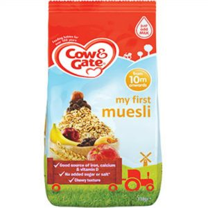 Cow & Gate My First Muesli from 10 months 330g pack Made in UK