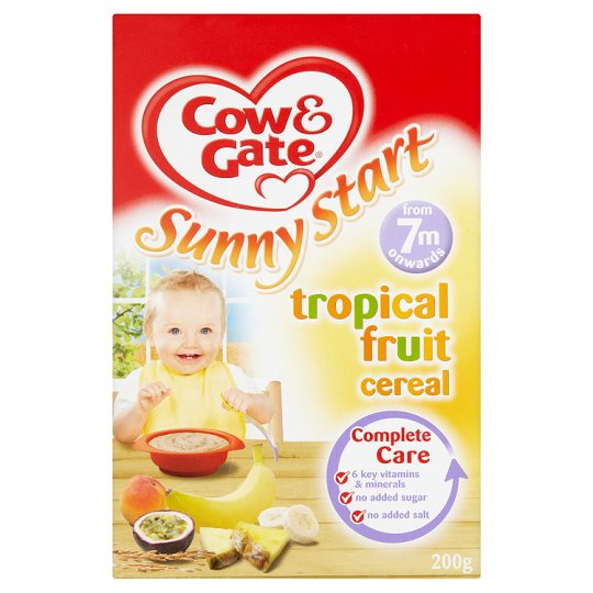 cow and gate tropical fruit cereal