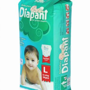 Diapant Large (9-14kg) 34-pc pack