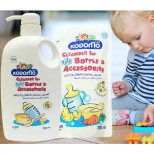 Kodomo Cleanser for Baby Bottle & Accessories – 750ml