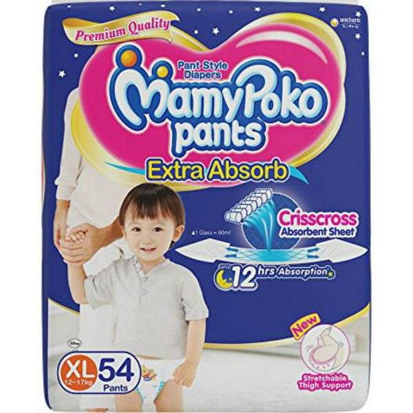 MamyPoko Pants Diapers XL 54pcs