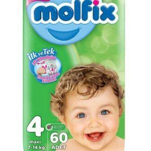 Molfix 4 (Maxi/7-14kg) – 60pcs