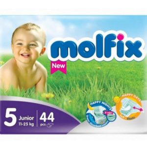Molfix 5 (Junior/11-18kg) – 44pcs