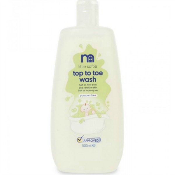 Mothercare Little Softie Top to Toe Wash 500ml