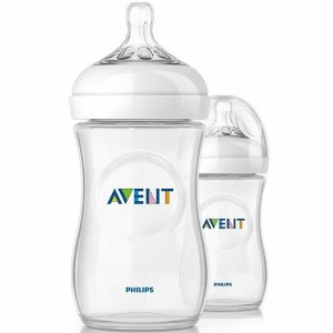 Philips Avent Natural Bottle 260ml (1 month+) twin pack