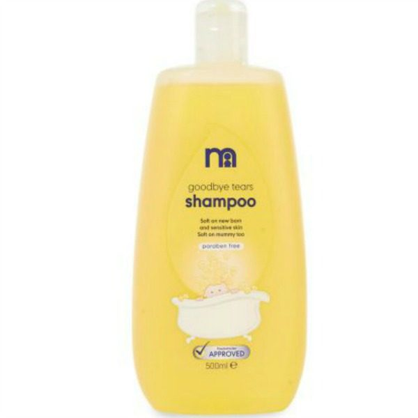 mothercare goodbye tears shampoo 500ml