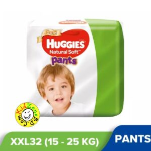 Huggies Natural Soft Pants XXL (15-25kg) – 32pcs