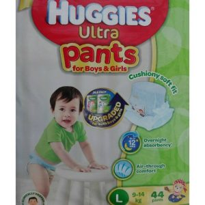 Huggies Ultra Pants Boys & Girls Large (9-14kg)