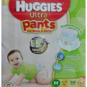 Huggies Ultra Pants for Boys & Girls Medium (6-12kg)