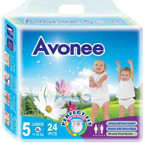Avonee Diapers Junior XL 5 24pcs