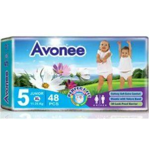 Avonee Diapers Junior/XL (11-25kg) – 48 pcs