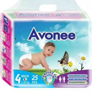 Avonee Diapers Maxi/Large (7-18kg) – 25 pcs