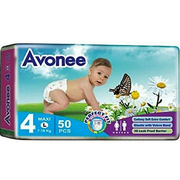 Avonee Diapers Maxi Large 50pcs