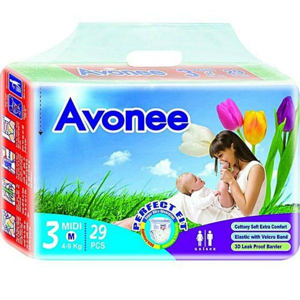 Avonee Diapers Midi Medium 29pcs