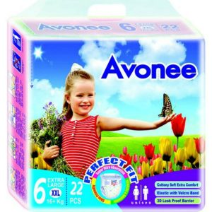 Avonee Diapers XXL (16+kg) – 22 pcs