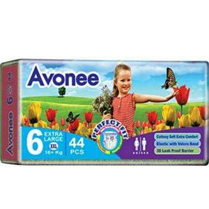Avonee Diapers XXL (16+kg) – 44 pcs