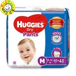 Huggies Diapers Dry Pants Medium (6-12 kg)
