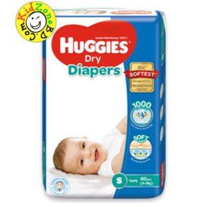Huggies Diapers Dry Small (4-8 kg)