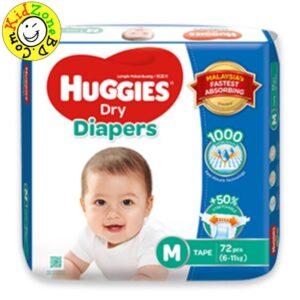 Huggies Diapers Dry Medium (6-11 kg)
