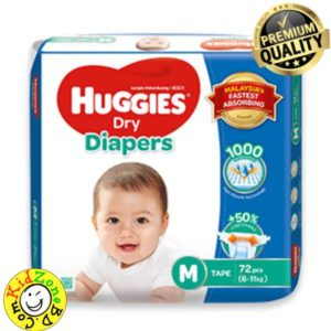 Huggies Diapers Dry Medium (6-11 kg)