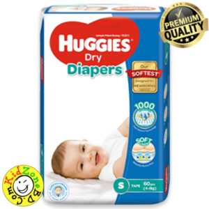 Huggies Diapers Dry Small (4-8 kg)