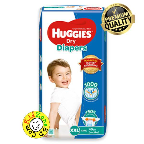 Huggies Diapers Dry XXL