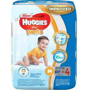 Huggies Diapers Dry Pants Medium (6-12 kg)